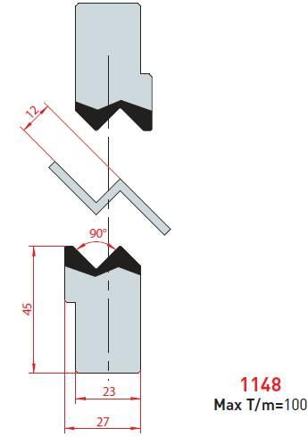 Z - vložka délka 835 mm Eurostamp