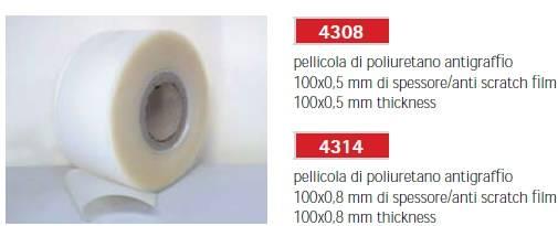 Ochranná fólie 0,8x100mm délka 30 metrů