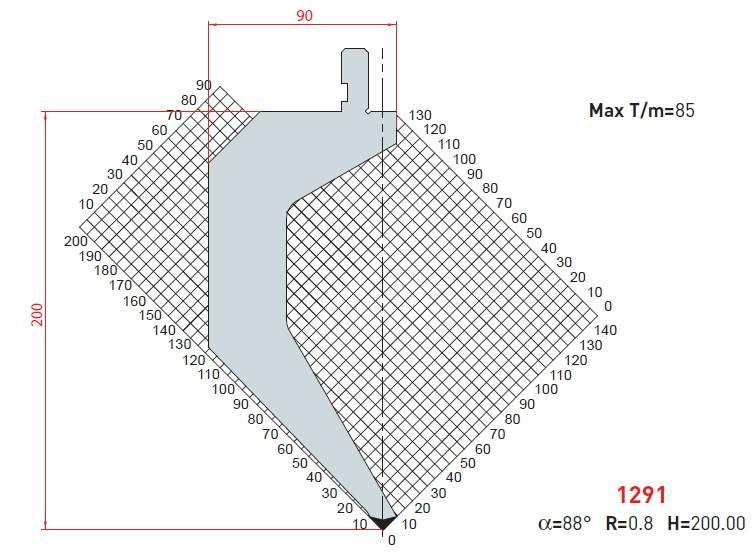 Razník - délka 505 mm z jednoho kusu Eurostamp