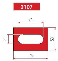 Polyuretan délka 835 mm Eurostamp